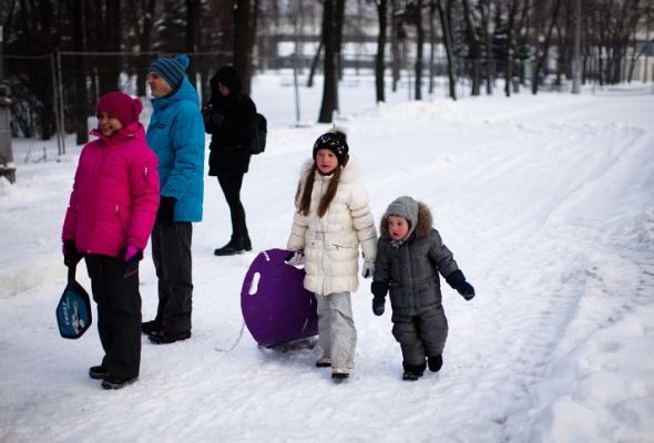 Снежное королевство вЛужниках: фоторепортаж - Фото №3