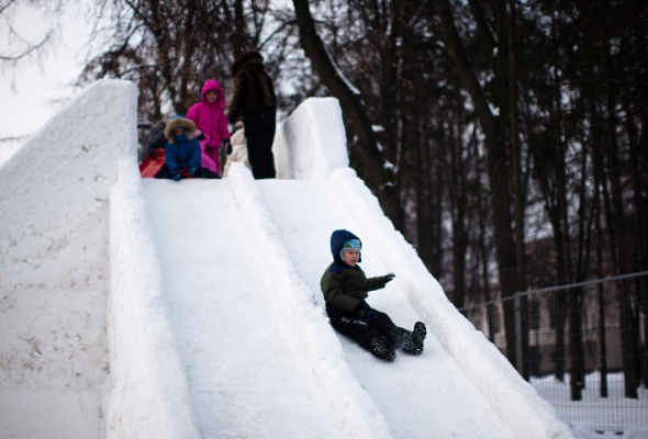 Снежное королевство вЛужниках: фоторепортаж - Фото №4