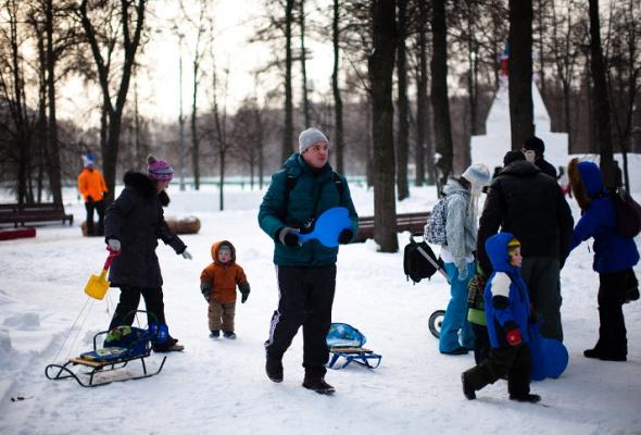 Снежное королевство вЛужниках: фоторепортаж - Фото №5