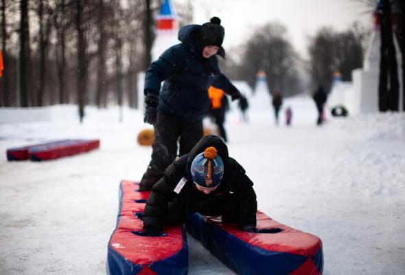 Снежное королевство вЛужниках: фоторепортаж - Фото №6