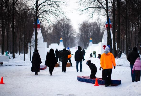 Снежное королевство вЛужниках: фоторепортаж - Фото №7