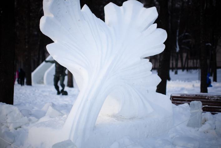 Снежное королевство вЛужниках: фоторепортаж