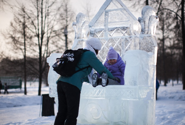 Снежное королевство вЛужниках: фоторепортаж - Фото №9