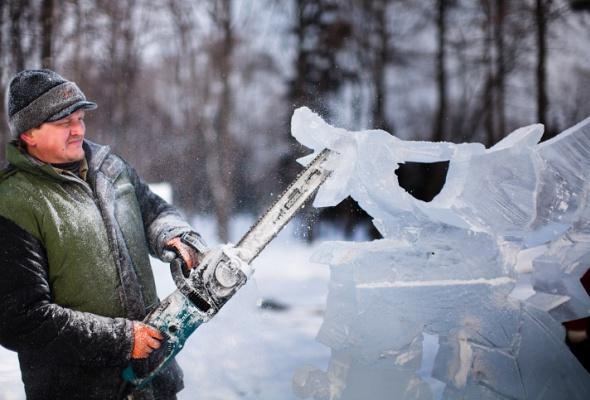 Снежное королевство вЛужниках: фоторепортаж - Фото №10