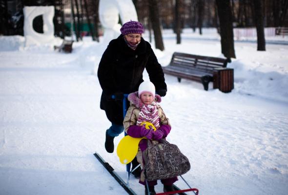 Снежное королевство вЛужниках: фоторепортаж - Фото №11