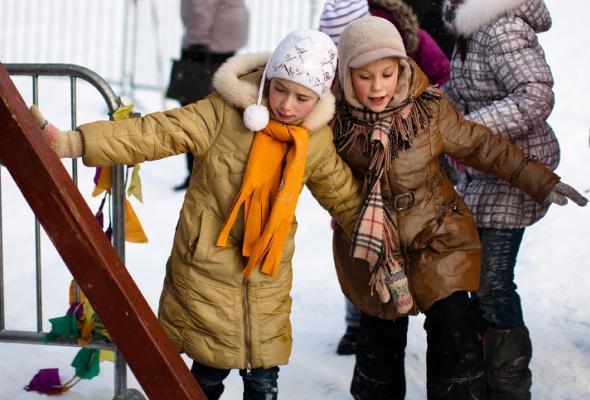 Снежное королевство вЛужниках: фоторепортаж - Фото №15