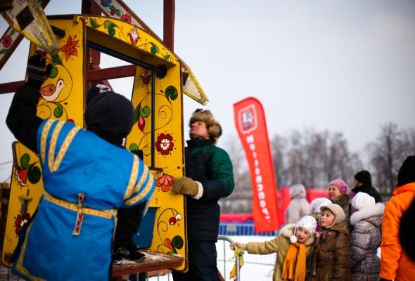 Снежное королевство вЛужниках: фоторепортаж - Фото №16