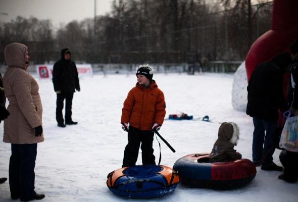 Снежное королевство вЛужниках: фоторепортаж - Фото №17