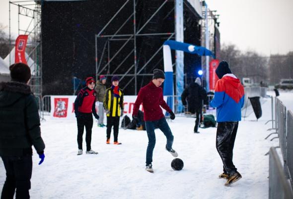 Снежное королевство вЛужниках: фоторепортаж - Фото №19