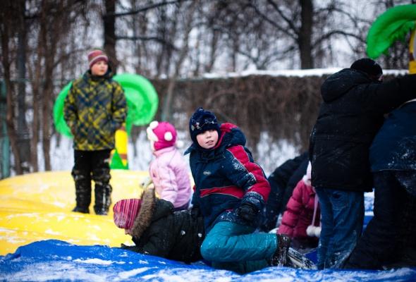 Снежное королевство вЛужниках: фоторепортаж - Фото №21