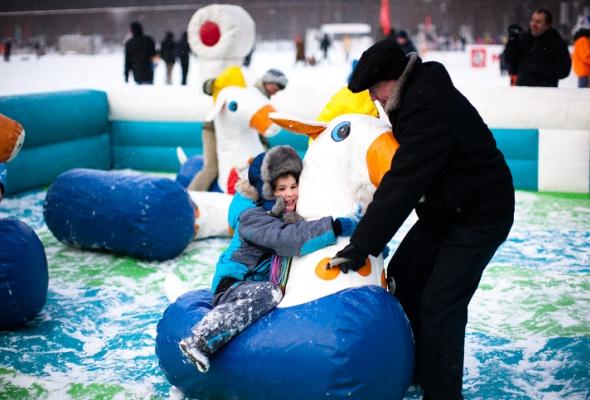 Снежное королевство вЛужниках: фоторепортаж - Фото №23