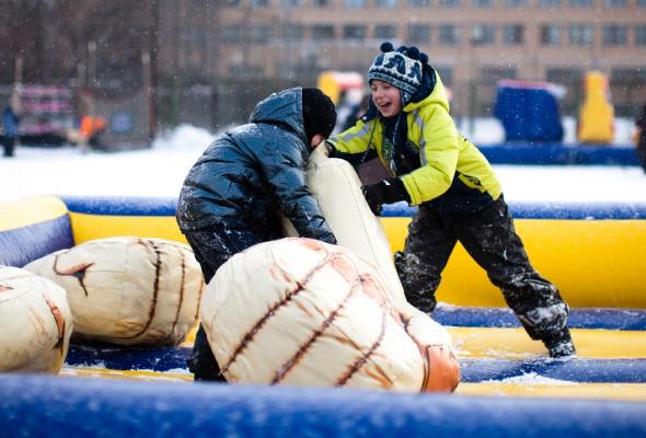 Снежное королевство вЛужниках: фоторепортаж - Фото №24