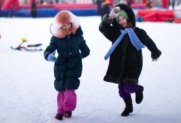 Снежное королевство вЛужниках: фоторепортаж - Фото №29