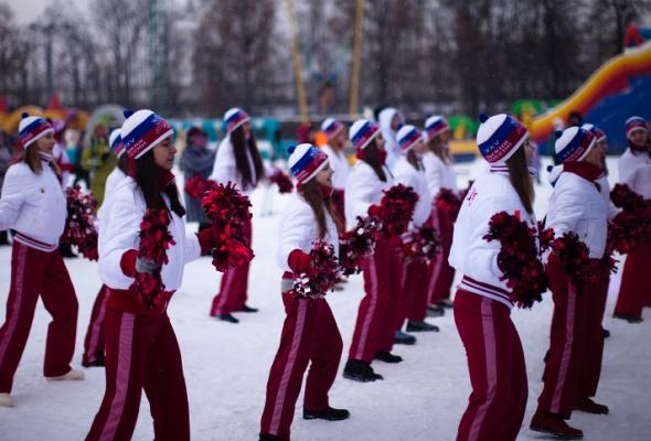 Снежное королевство вЛужниках: фоторепортаж - Фото №32