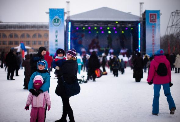 Снежное королевство вЛужниках: фоторепортаж - Фото №34
