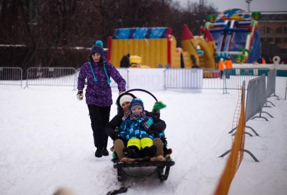 Снежное королевство вЛужниках: фоторепортаж - Фото №35