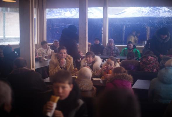 Снежное королевство вЛужниках: фоторепортаж - Фото №40