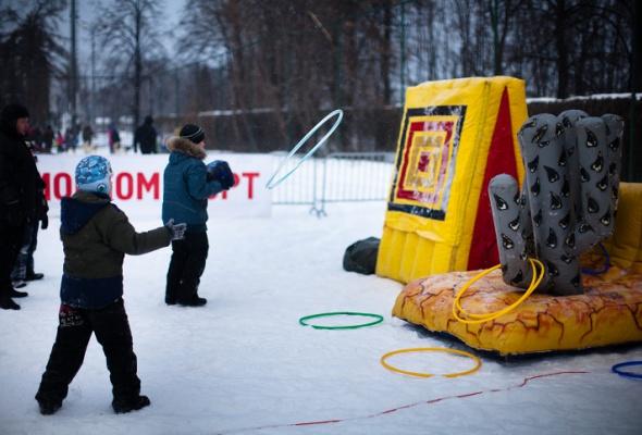 Снежное королевство вЛужниках: фоторепортаж - Фото №42
