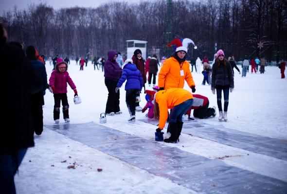 Снежное королевство вЛужниках: фоторепортаж - Фото №47