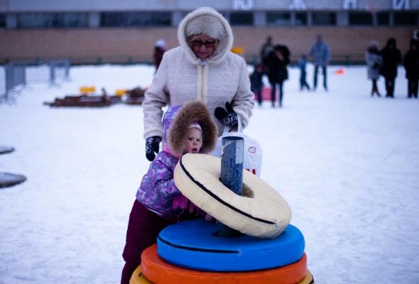 Снежное королевство вЛужниках: фоторепортаж - Фото №48
