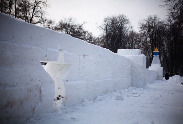 Снежное королевство вЛужниках: фоторепортаж - Фото №49