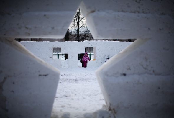 Снежное королевство вЛужниках: фоторепортаж - Фото №50
