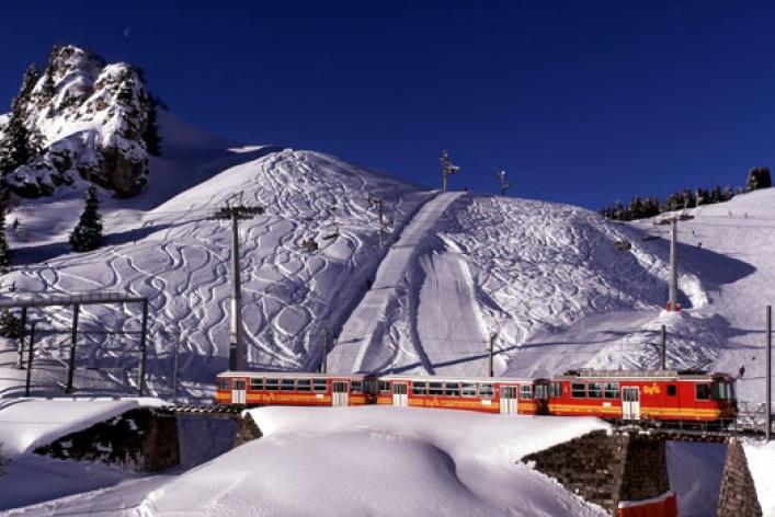 Швейцария для горнолыжников