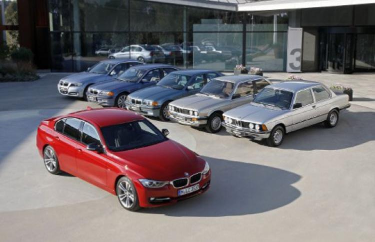 Шесть поколений BMW 3серии в«Гараже»