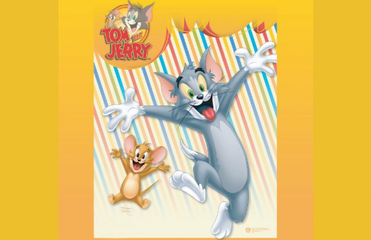 Том и Джерри на катке