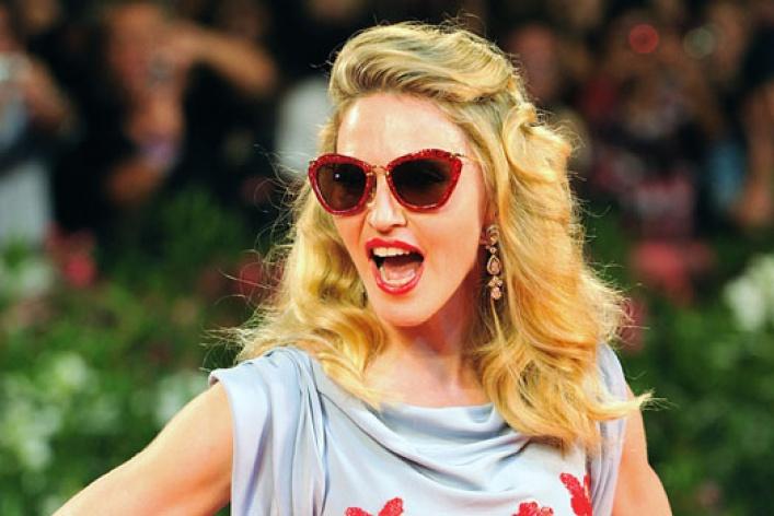 Мадонна едет вМоскву