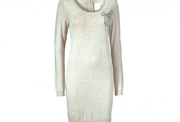 Где найти: Платье-свитер - Фото №1