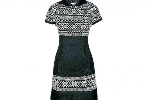 Где найти: Платье-свитер - Фото №3
