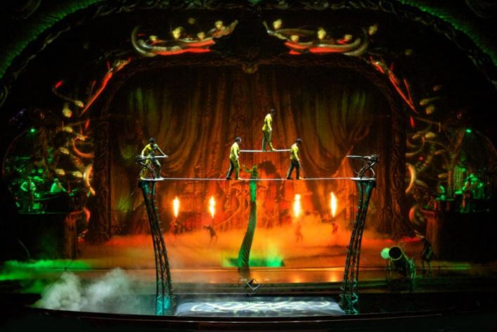 7фактов оновом шоу Cirque duSoleil