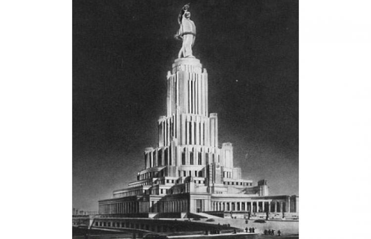 Дворец Советов — советская утопия