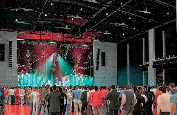 Новая концертная площадка — Stadium Live
