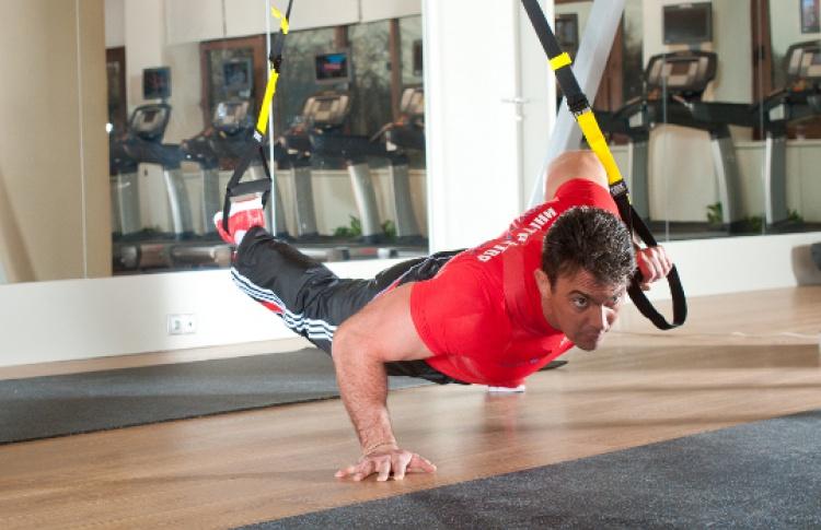 Тренировки наTRX в«Мультиспорте»
