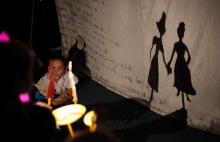 Мастер-класс по теневому театру