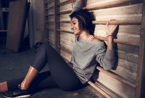 Nike представил новую весеннюю коллекцию для женского тренинга - Фото №2