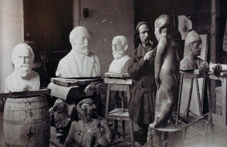 Русский скульптор Степан Эрьзя и весь мир