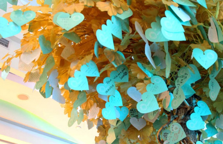 ВДень влюбленных вПарке искусств запустят воздушные фонарики