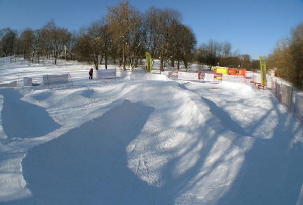 ВКрылатском открылся первый вРоссии детский сноуборд-парк - Фото №0