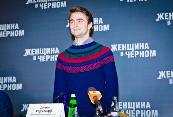 Дэниэл Рэдклифф представил свой фильм вМоскве - Фото №7