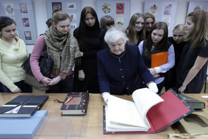Выставка эксклюзивных книг издательства «Терра»