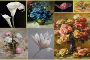 Пишем цветы. Французский импрессионизм или ботаническая живопись