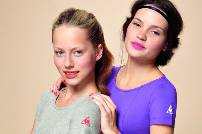 LeCoq Sportif разработал женскую коллекцию вдухе 80-х