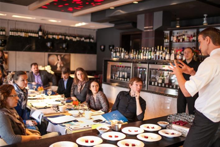 Круглый стол вGrand Cru: новая русская кухня