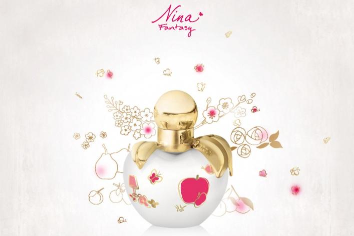 Вышел новый аромат Nina Ricci— Nina Fantasy