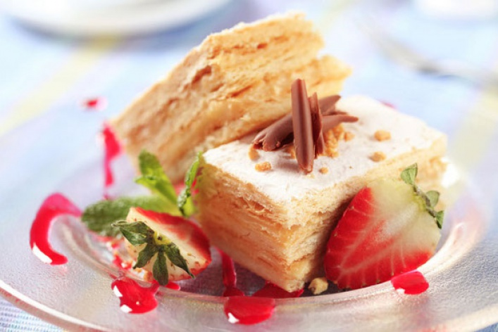 Торт «наполеон»картинки