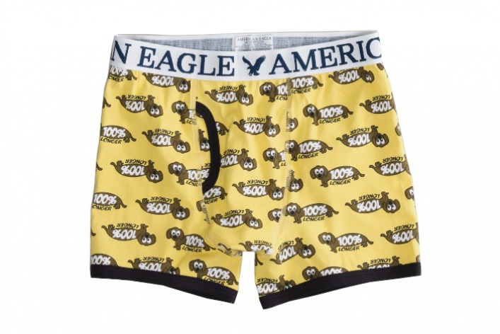 American Eagle Outfitters выпустили веселые мужские трусы