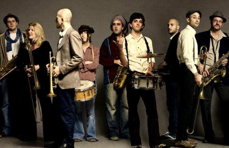 Духовой оркестр Marsh Dondurma (Израиль)
